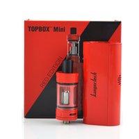 Cheap 1PCS!! Kanger Topbox mini starter kit e cigarette with Topfilling toptank mini Tank 4ml Topbox mini 75w vapor mod VS subvod mega kit