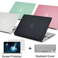 Cheap NEW Matte Case For Apple macbook Air Pro Retina 11 12 13 15 laptop bag For Mac book 13.3 inch