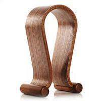 wooden stand - Wood headphone stand HEADPHONE WOODEN STAND HEADPHONE STAND