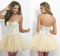 Cheap 2015 Knee Length Cocktail Dresses Flower Lace Appliques Short Party Dress Custom Made Cheap Homecoming Dresses Corset Prom Dresses Under 100