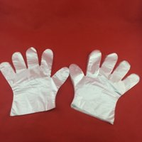 Wholesale 100piece bag disposable gloves thickened PE gloves repast and cleaning free size tools