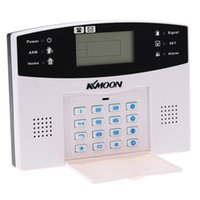 Wholesale KKMOON Home Security Intercom Wireless GSM Alarm System MHz Voice Prompt Home Burglar Security Alarm System order lt no t