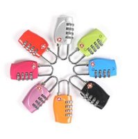 Wholesale 100PCS TSA lock customs combination lock All metal quality super good quality