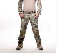 achat en gros de armée bdu-Armée tactique GEN 3 Battle Pants BDU pantalons de combat multicam avec genouillères détachables pour paintball Airsoft
