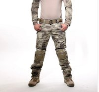 army bdu - Tactical military army GEN Battle Pants BDU combat trousers multicam militar with Detachable Knee Pads for paintball Airsoft