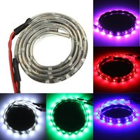 Wholesale 1 pair of V cm LED Flexible Strip Lights Waterproof IP65 with Colors LEG_676