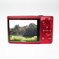 Wholesale 16Mp max HD Digital Camera Still Photo Camera with x Optical Zoom x Digital Zoom and Rechargeable Lithium Battery