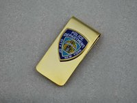paper money - 2016 Limited German Medal Badge German Cap Insignia New York Nypd Brass Money Clip Wallet Business Card Holder Paper Clips