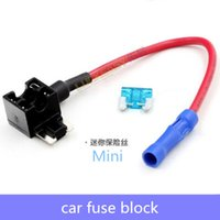 automobile fuses - Fuse Holder Circuit Fuse Automobile fuse block Mini fuse small fuse midsize fuse
