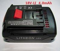bosch power tools - Replacement Battery for Bosch V Ah Li ion V LI Power Tool Battery mAh