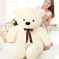 Wholesale Giant Teddy Bear m cm Big Huge Large Plush Stuffed Animals Toys Life Size Birthday Gift Big Large Toy hot sale2015