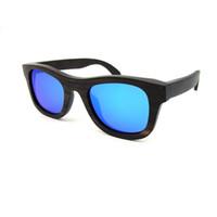 wood eyewear - Wooden eyeglass for Men and Women Popular black Ebony Wood Sunglasses Polarized Mirror Eyewear UV400 Handmade Real Nature Wood glasses