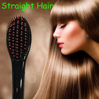 Cheap Beautiful Star NASV Hair Straightener Straight Hair Professional Antomatic LCD Hair Straightener Comb NASV Hair Straightener US comb