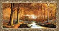 antique reproduction oil paintings - big size gobelin tapestries Natural landscape style home decorative picture Reproduction of antique oil painting