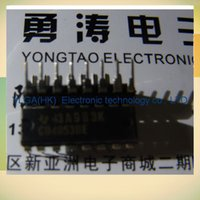 Logic ICs analog ics - CD4053BE Electronics three new original authentic analog switches promotional Road welcomed the consultation order lt no track