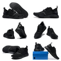 shoes size 5 women - Drop Shipping Cheap Famous Original NMD Runner Primeknit Triple Black Women s Mens Sports Running Athletic Sneakers Shoes Size