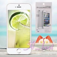 For iPhone 6 assembly films - Clear LCD Screen Protector Film Guard For iPhone Front Screen Protector for iPhone S LCD Assembly