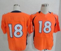 manning jersey - Hot Sale Manning Orange Blue White Men s Elite American Football Jerseys Authentic Football Uniforms Cheap Sportswear Allow Mix Order