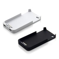 Cheap Qi Wireless Charger Receiver Case Cover Power Charging Transmitter Supplied Qi Standard Jacket For Iphone 4 4S iPhone4S