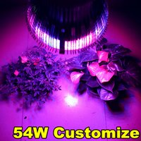 Wholesale X New W nm nm nm K Full Spectrum E27 Led Grow light Plant Growing Lamp Hydroponic Flowering