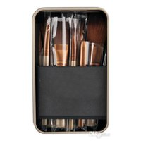 beauty tool box - Professional Cosmetic eye Make up Brush Kit Makeup Brushes makeup Tools Set beauty brochas With Iron Box pinceaux maquillage