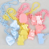 baby dummies - 3 Colors Hot Top Baby Dummy Pacifier Chain Soother Clip Buckle Holder Toddler Toy Tool