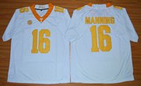 manning jersey - Peyton Manning Tennessee Volunteers NCAA College Football Jerseys New Style Game Stitched Jersey