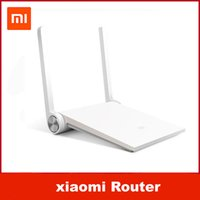 Wholesale 100 Original Xiaomi Router Mini MI Router Smart Router White Dual band GHz GHz Maximum Mbps Support Wifi AC