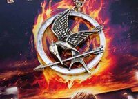 mockingjay - The Hunger Games Silver Color Necklaces etc Mockingjay Vintage Style Necklace Jewelry