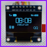 arduino blue - 0 Inch OLED Display Module Blue For Arduino IIC SPI Display Circuit