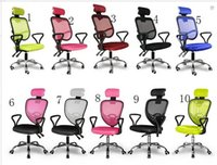 Wholesale Home office computer chair swivel chair chair fashion Ergonomic boss chair on sale net cloth chair