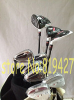 Wholesale 12pcs Full Left handed golf clubs R15 driver R15 fairway woods RSi1 irons PAS LH Rsi set free headcover
