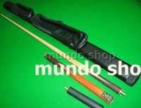 Wholesale 2pc billiards stick Snooker Club black ball Cue Pool bar Three Section Cue mini butt cm