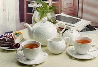 Wholesale Set Ceramic Coffee Mug Set Wedding Gifts Continental bone china tea cup and saucer English