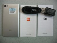Wholesale Original Xiaomi M3 Mi3 WCDMA Qualcomm Quad Core Mobile Phone GB RAM GB ROM p mp Camera NFC Root and Play store