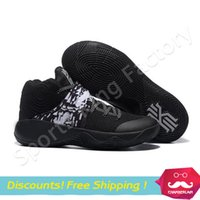 Wholesale Oreo Kyrie Basketball Shoes Irving Oreo Shoes black Basketball Boots Kyrie Irving Oreo Sneakers Men Sports Shoes US