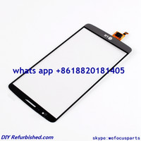 Wholesale Original Grey Outer Glass Digitizer Touch Screen panel for LG G3 D850 D851 D855 VS985 LS990