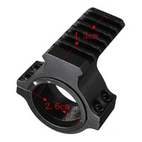 Wholesale 30mm Ring Scope Tube Flashlight Laser mm Weaver Picatinny Rail Mount Adapter Aluminum Hunting Accessories High Quality