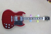 Cheap Free shipping Sg electric guitar red pickup electric guitar 150621