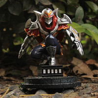 resin figure - 12 CM LOL League Of Legends The Master of Shadows Zed Resin Action Figure Kids Toys Gift