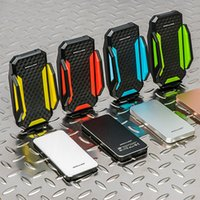 bicycle phone charger - ROCKBROS Portable Bicycle Phone Charger Holder For iPhone Cycling Bike Smartphone Charger Holder mAh Powerbank Soporte Movil