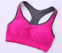Wholesale 2016 Hot Selling Quick dry lady Gym Bra Sports Yoga Bra Breathable comfortable bra Running Clothing Blockout Bra Seamless Sports Bra