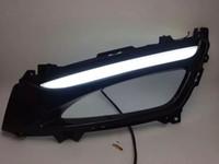 Cheap top quality led drl daytime running light for KIA optima K5 2011-12 with light plastic holder daytime driving light