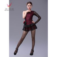 Wholesale latin dance skirt girls dance costume latin dance dress women girls lace sexy Latin dance dress dance skirt new clothes and costumes