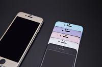 Protecteur d'écran en verre trempé pour IPhone 6 6s, plus Nouvelle arrivée Miroir avant Film 3D incurvées protecteurs d'écran de téléphone cellulaire Livraison gratuite