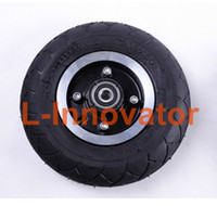 alloy wheels tires - Inch Scooter Wheel Aluminium Alloy Wheel Hub Pneumatic Tire With Inner Tube CM Tyre Inflation Wheel For Electric KickScooter