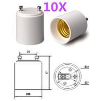 adapter plastic holder - GU24 to E27 E26 LED Light Bulb Base GU24 to E26 E27 Lamp Holder Socket Adapter GU24 E26 E27 GU24 E27E26 Converter