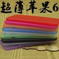 Wholesale 0 mm Super Thin Slim Matte Frosted Transparent Clear Crystal Soft PP Cover Case Skin for iPhone inch iPhone Plus inch MOQ