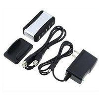 Wholesale USB HUB Ports Splitter High Speed US AU EU Plug AC Powered Adapter Cable Cord for PC Laptop