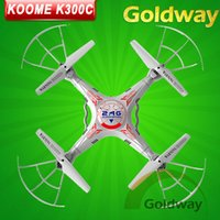 Wholesale 100 New Original KOOME K300C CH G RC Remote Control Quadcopter Eversion Aircraft with M Pixels HD Camera Toys